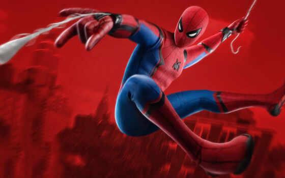 marvel, паук, мужчина, spiderman, avenger, comics, sony