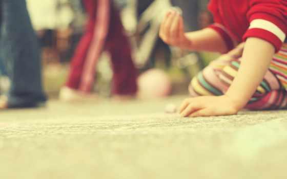 children, рука, game