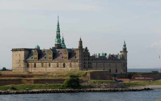 замок, кронборг, denmark