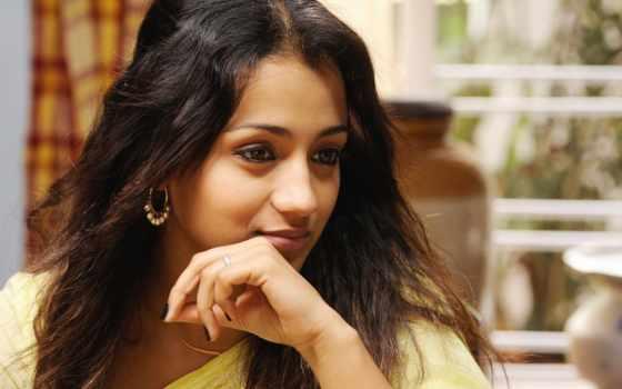 trisha, saree, cute, krishnan, актриса, photos, black,