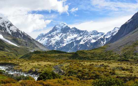 mount, cook, aoraki, new, zealand, mackenzie, posters, zazzle, postcard,