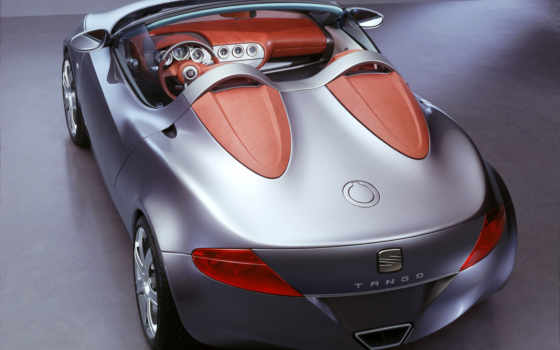 seat, tango, concept, cars, wallpapers, angle, rear,