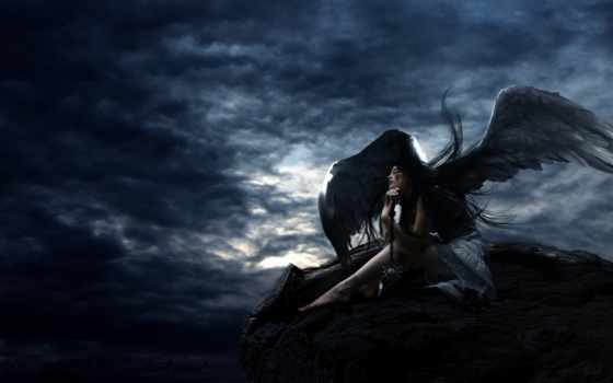 ангел, крылья Фон № 22684 разрешение 1920x1200