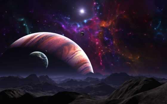космос, планеты Фон № 24109 разрешение 2560x1600