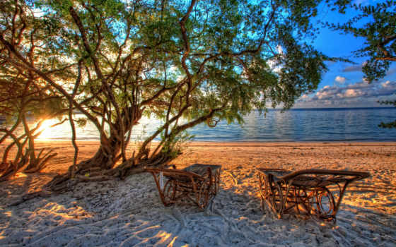 пляж, priroda, more