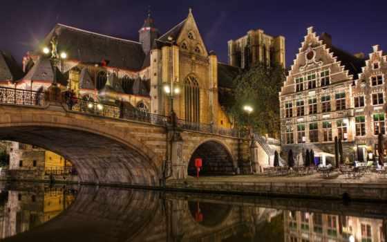 брюгге, город, бельгия, бельгии, города, посещение, были,