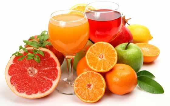 фрукты, соки, цитрусы, апельсины, juice, полезнее,