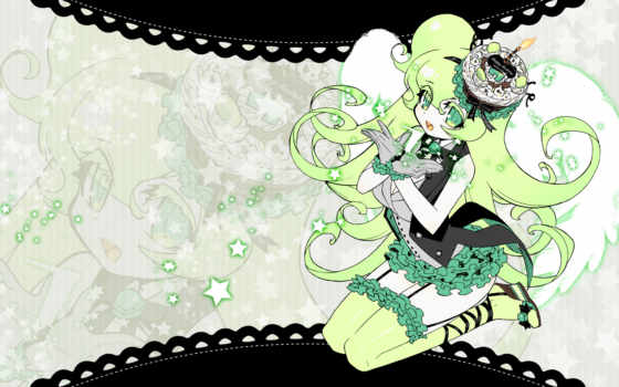 anime, macne, green, hair, vocaloid, images,
