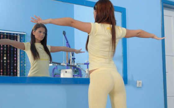 зеркало, девушка, девушки