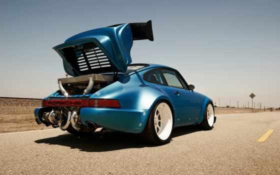 porsche, turbo, motor