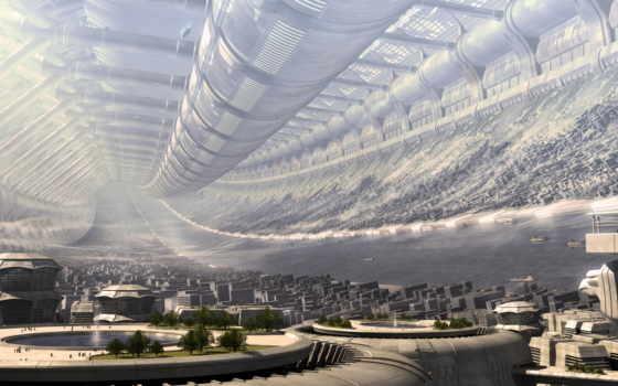 город, будущего, тонель