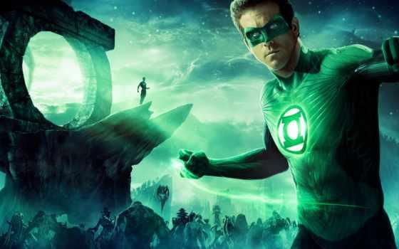 lantern, зелёный, супергерой, фонаря, зеленого, ryan, reynolds, фильмы,