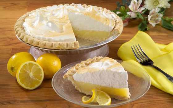 пирог, lemon, лимоном, очень, рецепт, лимоны,
