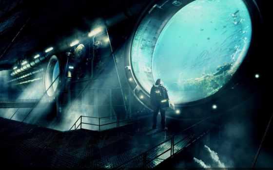 underwater, station