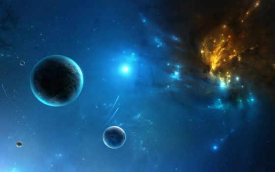 планеты, туманность Фон № 24532 разрешение 1920x1080
