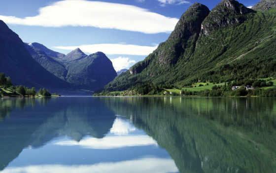 горы, норвегии, норвегия