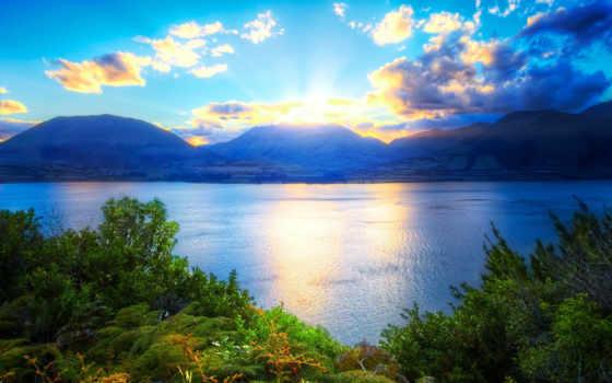 природа, заставки, небо