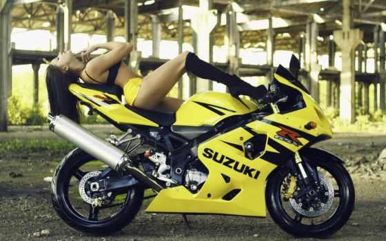 девушка, мотоцикл, devushki, красивые, девушек, нояб, мотоциклах, девушками, страница, suzuki, девушкой,