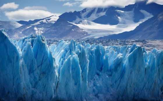 glacier, горы, снег, небо, ледники, вершины, oblaka, иней, лед, гряда, горные,