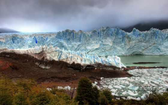 glaciers, arctic, море