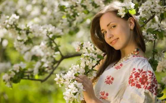 цвету, яблони, color