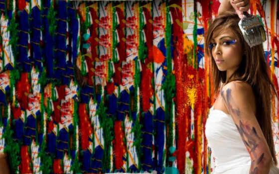 девушка, devushki, художница, favourite, art, mix,