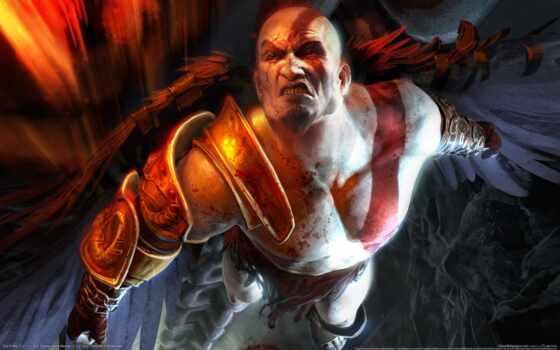god, war, kratos, игры, iii, войны, герой, картинка, creator,