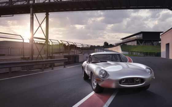 jaguar, вид, lightweight, тело, cars, aluminium, машина,