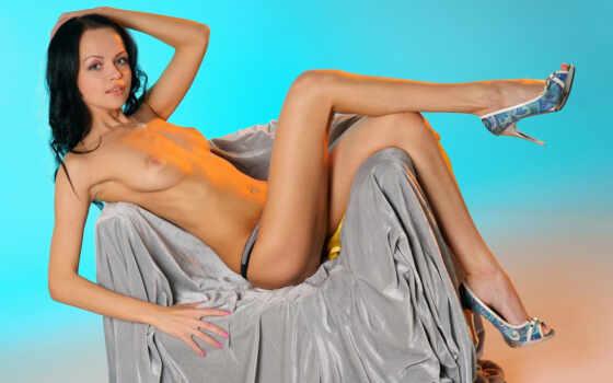 thigh, russian, брюнетка, красивая грудь, эротика