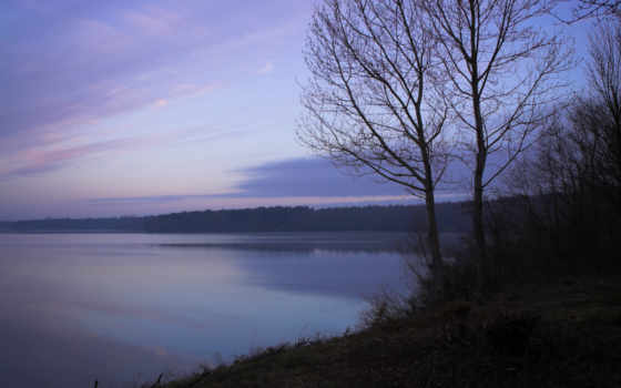 озеро, nature