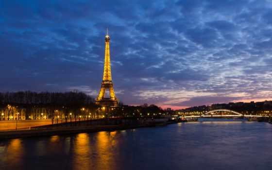 париж, франция, башня, эйфелева, за, экскурсия,