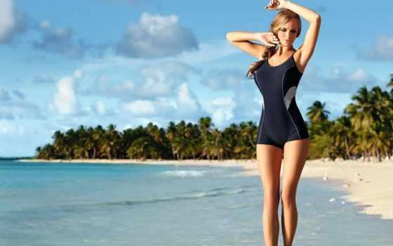 купальниках, devushki, девушка, пляж, olczak, модель, купальник, море, ewelina,