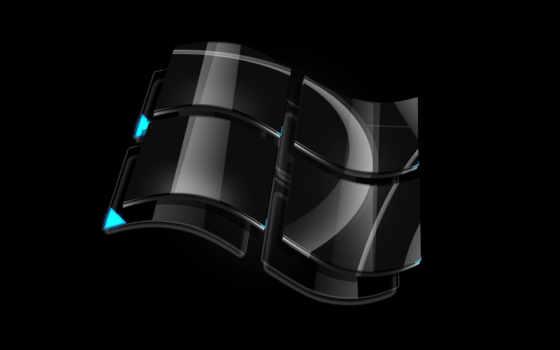 windows, black, широкоформатные