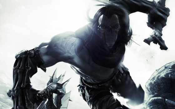 darksiders, всадник, смерть, кости,