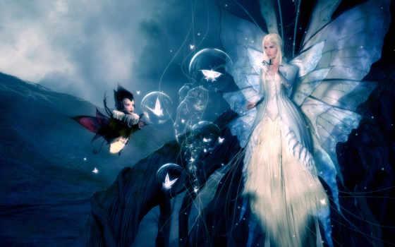 девушка, fantasy, devushki, фантастические, существа,