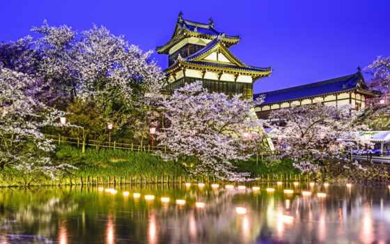 castle, замoк, япония
