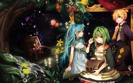 vocaloid, gumi, art