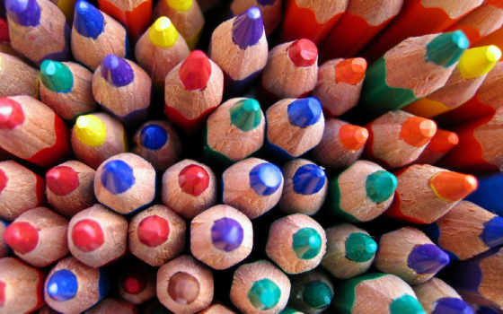 разные, карандаши, но