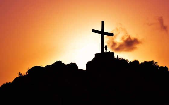 кросс, hill, силуэт, jesus, christ, clipart, crosses,