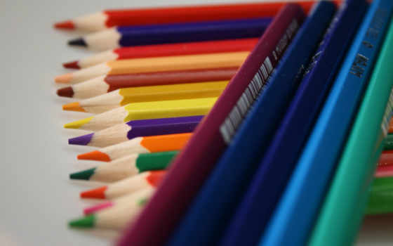 цветные, карандаши, разное, colorful, drawing, множество, pencil,