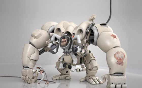 роботы, графика