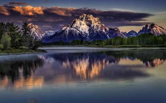 красивый, пейзажи, elements