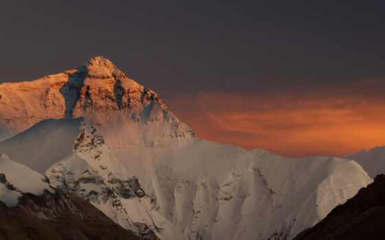everest, mount, top, горы, небо, china, favourite, снег, nepal, пейзажи -,