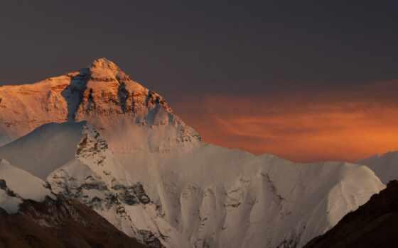 everest, mount, top, горы, небо, china, favourite, снег, nepal, пейзажи -,