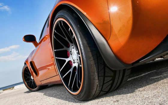 , оранжевый lexus, колесо, суперкар ,шина, диск