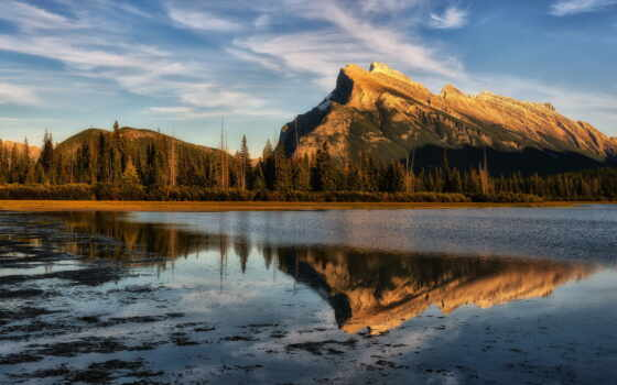 rundle, mount, banff, фото, lakes, photos, including, vermillion, images,