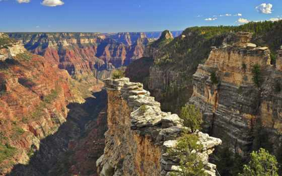 каньон, grand, гранд, сша, park, national, rim, north, reserve, самый,
