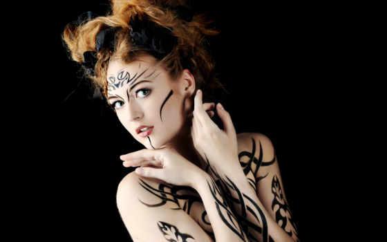 тату, лице, татуировки, devushki, совсем, татуировка, страница, alia, вообще, женские, старинный,