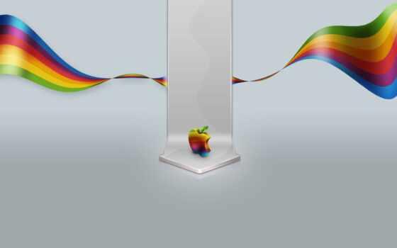 apple, mac, окно, fond, sfondo, бренд, logo, минимализм, color, idee