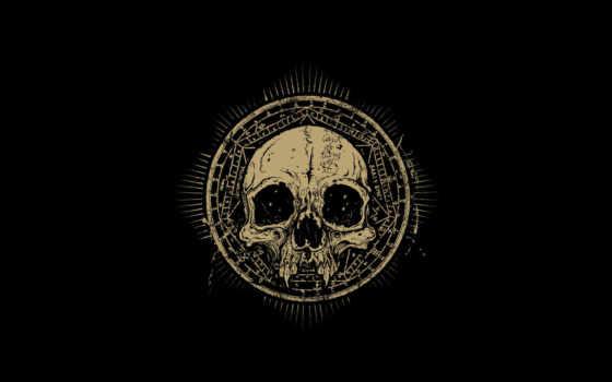 мрак, символы, череп, знаки, сатана, ужас, круг, кнопкой, wallpaper, revenants, tags, картинку, правой,